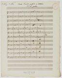 Marche d'accords parfaits en imitation // à 12 parties (manuscrit autographe)