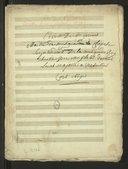 Ariette / de Mr. Giroust, maître de musique de la chapelle et surintendant de la musique du Roÿ ; chantée par Mr. Platet devant Leurs Majestés à Versailles