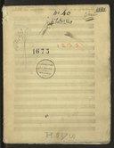 Jubilate Deo omnis terra. Mottet en trio et en symphonie // Giroust (manuscrit autographe)