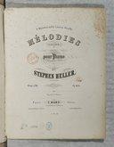 Mélodies (Lieder) pour piano. Op. 120