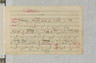 3 gnossiennes / Erik Satie (manuscrit autographe)