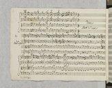 Concerto n°27 pour violon et orchestre (manuscrit autographe) / del Sigr Giuseppe Tartini