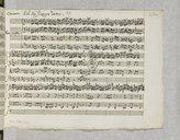 Concerto n°23 pour violon et orchestre (manuscrit autographe) / del Sigr Giuseppe Tartini