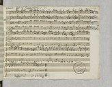 Concerto n°21 pour violon et orchestre (manuscrit autographe) / del Sigr Giuseppe Tartini
