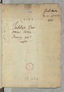 Jubilate Deo // omnis terra Pseaume 99e (manuscrit autographe)