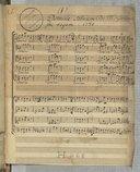 Domine salvum // fac regem 1730 // De Mr Gervais (manuscrit autographe)