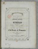 Souvenirs dramatiques : soirée musicale divisée en trois duos sur Othello, opéra de Rossini : Op. 89 / par C. de Bériot et C. Fauconier