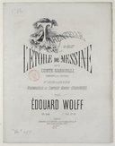 Tarentelle du ballet l'Etoile de Messine, du Comte Gabrielli, transcrite pour le piano. Op. 242