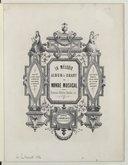 La mélodie, album de chant du Monde musical : romances, mélodies, duettino etc. / Masini, A. Boieldieu, H. Berlioz... [et al.]