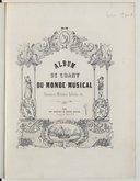 Album de chant du Monde musical : romances, mélodies, ballades etc.