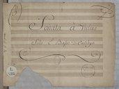 Sonata à Violino // Solo E Basso Di Canabych