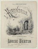 L'Hirondelle, paroles de A. de Lamartine