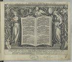 Encomium musices quod ex sacris litteris concinnabat Philip. Gallaeus. Iconibus exprimebat pictor celeberrimus Io. Stradanus. Versibus illustrabat doctissimus Io. Bochius,...