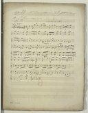 """""""1er Concerto en ut mineur pour violoncelle et orchestre op. 33 par Auguste Franchomme (manuscrit autographe)"""