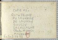 [Recueil d'airs et de chansons / Claude Le Jeune, Eustache Du Caurroy, Jacques Mauduit, et al.]