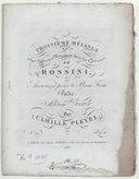 Mélange (Troisième) sur différents morceaux tirés des opéras de Rossini, arrangés pour le piano-forte