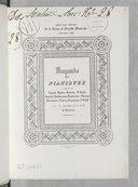 Keepsake des pianistes : offert aux abonnés de La revue et gazette musicale : orné du dac simile d'une valse de Rossini