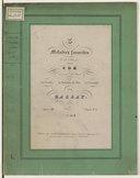 3 Mélodies favorites de H. Proch pour le cor avec acc. de piano, op. 48