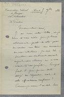[2 lettres autographes signées d'Henri Rabaud à Henri Casadesus, 5 septembre 1933, 29 juin 1935] (manuscrit autographe)