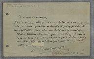 [Lettre autographe signée de Nadia Boulanger à Henri Casadesus, 8 juillet 1913] (manuscrit autographe)
