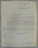 [Lettre autographe signée de S. de Diaghilew et H. Casadesus, 6 novembre 1922] (manuscrit autographe)