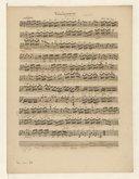 """""""Sinfonie par Monsieur baptistin."""" en si bémol majeur, pour 3 violons et basse"""