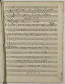 Simphonie du Festin Royal de Monseigneur Le Comte d'Artois, année 1773