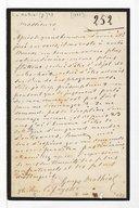 [Lettre de Georges Mathias à la Société des concerts du Conservatoire, (1887)] (manuscrit autographe)