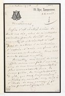 [Lettre de Georges Mathias à la Société des concerts du Conservatoire, 2 avril (1885)] (manuscrit autographe)