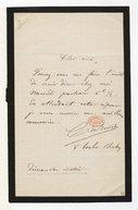 [Lettre de Charles de Bériot à un ami, Dimanche matin] (manuscrit autographe)