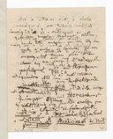 Lettre d'Hector Berlioz à Charles Lucien Lambert, [Paris], mercredi 27 [mars 1850] (manuscrit autographe)
