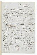 Lettre de Camille Pleyel à Pier Angelo Fiorentino, [Bruxelles], dimanche matin [3 août 1845] (manuscrit autographe)