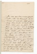 Lettre de Camille Moke au baron de Trémont, Paris, 27 août [1830] (manuscrit autographe)