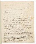 Lettre d'Hector Berlioz à Gaspare Spontini, [Paris, ca 6-10 décembre 1830] (manuscrit autographe)