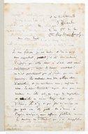 Lettre d'Hector Berlioz à Heinrich Ernst, Charles Hallé, Stefen Heller, [Paris], 3 décembre, l'An 2ème de la 2ème République française [1849] (manuscrit autographe)