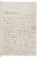 Lettre d'Hector Berlioz à Hans von Bülow, Paris, mercredi 20 janvier 1858 (manuscrit autographe)
