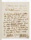 Lettre d'Hector Berlioz à Ferdinand David, [Leipzig], lundi [12 décembre 1853] (manuscrit autographe)