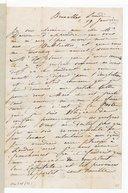 Lettres de Camille Pleyel à James Davison, Bruxelles, 19 janvier [1846], 26 mars [1846], lundi 3 août [1846] (manuscrit autographe)