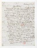 [Lettre de Giacomo Meyerbeer à Monsieur xxx, 23 Juin 1863] (manuscrit autographe)