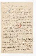 [58 lettres adressées à Giacomo Meyerbeer et un programme] (manuscrit autographe)