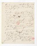 [Un contrat, 13 décembre 1831] (manuscrit autographe)