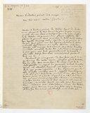 [Lettre de Richard Wagner à G. Spontini, Dresde, 29 octobre 1844] (manuscrit autographe)