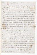 [Lettre autographe signée de Giuseppina Verdi adressée à Escudier, 24 décembre 1859] (manuscrit autographe)