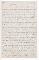 [Lettre autographe signée de Giuseppina Verdi adressée à Escudier, Sant'Agata, 3 janvier 1865] (manuscrit autographe)