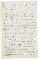 [Lettre autographe signée de Giuseppe Verdi adressée à Escudier, Busseto, 6 juillet 1864] (manuscrit autographe)