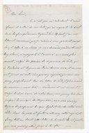 [Lettre autographe signée de Giuseppina Verdi adressée à Escudier, Sant'Agata, 19 août 1858] (manuscrit autographe)