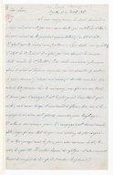 [Lettre autographe signée de Giuseppina Verdi à Escudier, Busseto, 4 juillet 1857] (manuscrit autographe)