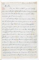 [Lettre autographe signée de Giuseppina Verdi adressée à Escudier, Rome, 20 janvier 1859] (manuscrit autographe)
