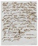 [2 lettres de Giulia Grisi à Louis Viardot, 1839 et s.d.] (manuscrit autographe)