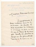 [Lettre de Emile Verhaeren à Florent Schmitt, (sans date)] (manuscrit autographe)